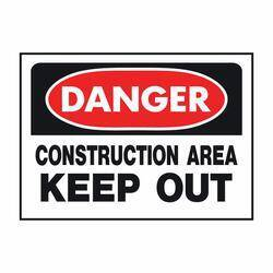 Hy-ko Products 520 Danger Construction Sign