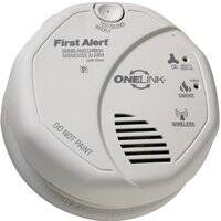 First Alert 0704171 Wirels Dc Talking Smk/Co Alarm