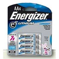 Energizer Battery L91BP-4 Energizer Aa Lithium Battery