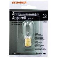 Sylvania/Osram 18200 15 Watt T7 Double Contact Clear Incandescent Bulb