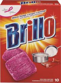 ARMALY BRANDS 23310 Brillo Steel Wool Soap Pads 10ct