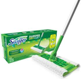 Procter & Gamble 30942 Swiffer Sweeper Floor Mop Starter Kit