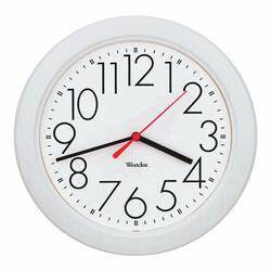 Westclox 461761 10 Round White Wall Clock