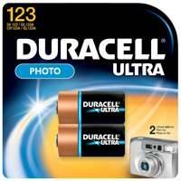 Duracell 41333212104 Ultra Photo Battery 3v 2pk