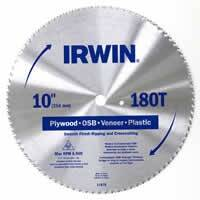 Irwin 11870 10 in 180tht Plywood Blade