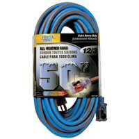 Power Zone ORC530830 Cord 50 ft 12/3 All Weather