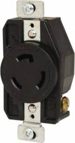 Cooper Wiring L620R 20a 3wire Ground Lock Receptacle