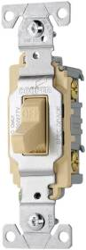 Cooper Wiring 7081235 Cs220v-Box Switch Ivory 2-Pole
