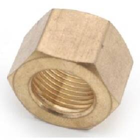 Anderson Metal 00061-10 Brass Compression Nut 5/8 in