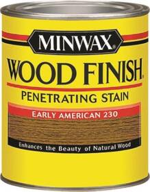 Minwax 22300000 Early American Wood Finish Stain 1/2-Pint