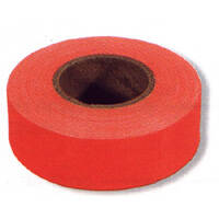 Irwin 65601 Glo Red Flag Tape 150 ft