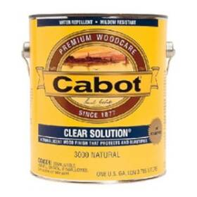 Cabot 6945208 01-9200 Voc Clear Solution Natural