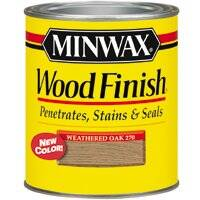 Minwax 22760 Weathered Oak Int Stain 1/2 Pt
