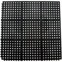Quality Rubber Resource 8178667 3x3 in terlocking Anti Fatigue Mat