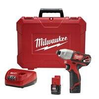 Milwaukee 2462-22 Impact Driver Kit 1/4 in M12