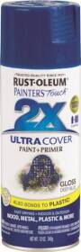 Rust-Oleum 249114 Painter's Touch Spray Paint And Primer Deep Blue