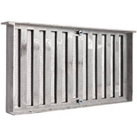 LL Building Products 500 16x8 Foundation Vent W/Shutter