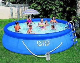 Intex Recreation 7781388 15 ft X 42 in Easy Set Swimming Pool
