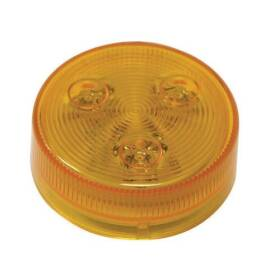 Peterson Mfg V172KA 2-1/2 in Round Amber Led