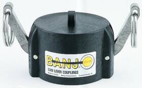 Banjo Corporation 150CAP 1-1/2 in Cap For Male Adapter