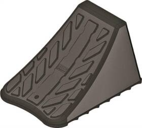 Reese Towpower 7000100 Heavy Duty Wheel Chock, For Use With Trailer Wheels, Polymer Black