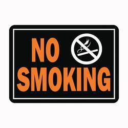Hy-ko Products 811 No Smoking Hyglo Aluminum Sign