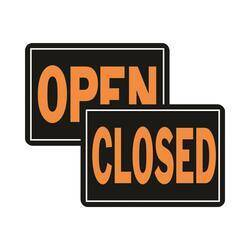 Hy-ko Products 820 Open/Close Hyglo Aluminum Sign