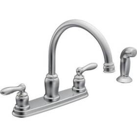 Moen CA87888 Caldwell 2h Kitchen W Spray Ch