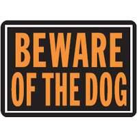 Hy-ko Products 0872853 Beware Of Dog Aluminum Sign