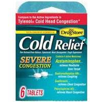 Lil Drug Store COLD RELIEF Cold Relief