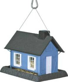 North States Industries 9065 Large Blue Cottage Birdfeeder