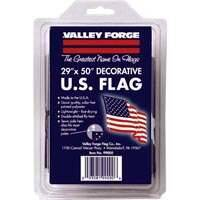 Valley Forge Flag 0886069 26x50 Poly Flag W/Sleeve