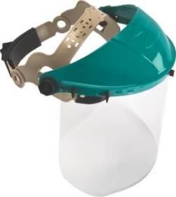 Msa Safety Works 10103557 Adjustable Headgear With Visor