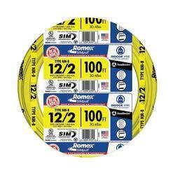 Southwire 12/2NM-WGX100 12/2nm-Wgx100 ft Building Wire