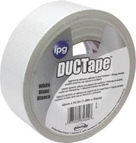 Intertape 20C-W2 1.87 in X60YD White Duct Tape