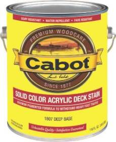 Cabot 9026600 Gal Acryl Deck Stain Deep Base