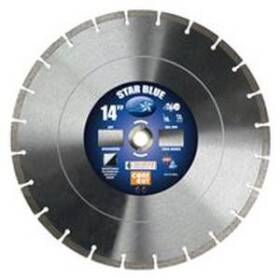 Diamond Products 14355 14x.125univ Seg Blade Blue