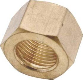 Anderson Metal 730061-05 5/16 Compression Nut X2
