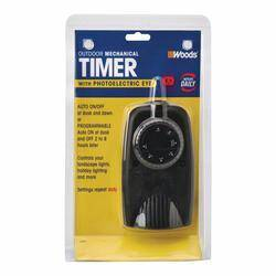 Coleman Cable 2001 Outdoor 24hr Timer W/Photocell