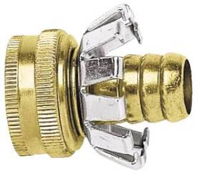 Gilmour C58F 5/8 Brass Hose Clinch Coupler