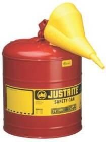 Justrite Mfg Company 7150110 Type I Steel Safety Can For Flammables 5 Gal