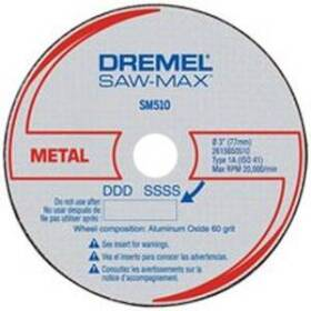 Dremel SM510C Metal Cutoff Wheel 3 in (3pk)