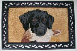 Orgill Inc IM20022X33HDB Mat Entrance 22x33 Dog W/Bird