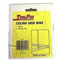 Toolpro 05122 Ceiling Wire 18ga 300 Ft