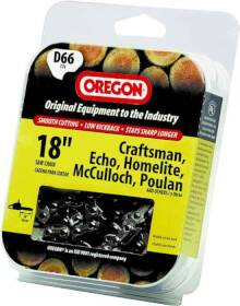 Oregon Cutting Systems D66 18 in Chainsaw Replacement Chain