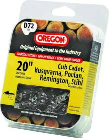 Oregon Cutting Systems D72 20 in Chainsaw Replacement Chain