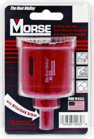 Mk Morse TAC32 Tac32 Bi-Metal Hole Saw, 2 in Diameter, M3 High Speed Steel