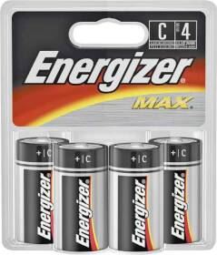 Energizer Battery E93BP-4 Energizer C Battery 4pk
