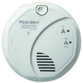 First Alert SCO7CN Smoke/Carbon Monoxide Combo Alarm With Voice