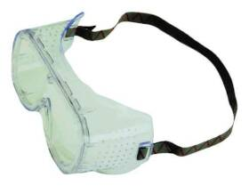 Msa Safety Works 10090643 Impact Resistant Safety Goggles
